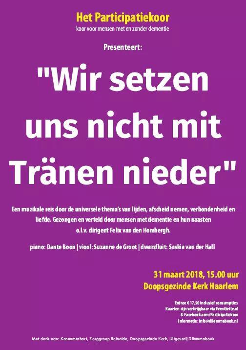 Poster Arda Tranen Nieder